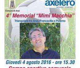 """Photo of Oggi  ad Anzi il 4° """"Memorial Macchia"""" con Francavilla e Picerno"""