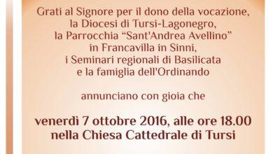 Photo of La comunità parrocchiale di Francavilla in Sinni in festa per Ordinazione diaconale di Antonio Lo Gatto