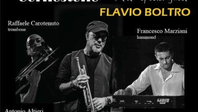 Photo of IL TROMBETTISTA FLAVIO BOLTRO AL JAZZ CLUB DI GOCCE D'AUTORE 15 Febbraio