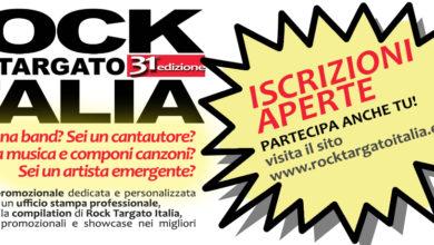 Photo of ROCK TARGATO ITALIA  XXXI edizione  APERTE ISCRIZIONI