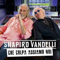 Photo of Shapiro-Vandelli, Che colpa abbiamo noi Dal 31 agosto il brano che anticipa l'uscita dell'album Love and Peace in uscita il 21 Settembre