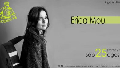 Photo of Erica Mou in concerto a Crispiano