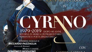 """Photo of A teatro dopo 40 anni ritorna l'atteso musical """"Cyrano""""di Domenico Modugno"""