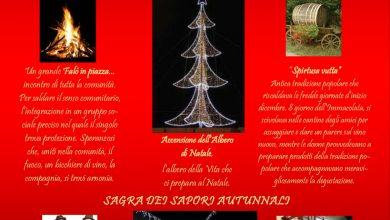 Photo of 07 Dicembre a Calvera si accende il Natale