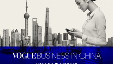 Photo of Vogue Business in Cina via WeChat
