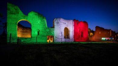 Photo of Le Terme di Caracalla si illuminano con il Tricolore