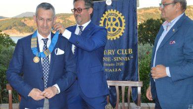 Photo of Cerimonia del Martelletto Domenico Totaro è il presidente del Rotary Club Senise-Sinnia anno 2020-2021