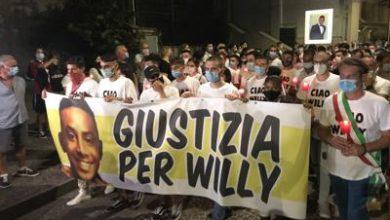 """Photo of """"Giustizia per Willy"""", fiaccolata per il 21enne ucciso a Colleferro"""