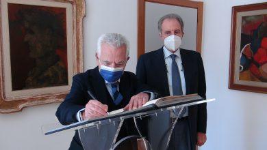 Photo of IL PRESIDENTE BARDI HA RICEVUTO IL RETTORE MANCINI