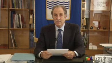 Photo of MESSAGGIO DEL PRESIDENTE DELLA REGIONE, VITO BARDI SU ZONA ROSSA