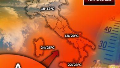 Photo of Arriva l'anticiclone subtropicale: addio inverno, arriva la primavera con temperature fino a 25°C