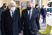 """Photo of Mattarella alla cerimonia di inaugurazione della piattaforma digitale """"Dante.Global"""""""