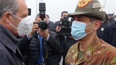 """Photo of In arrivo nel pomeriggio di oggi dosi Pfizer. Bardi """"Ringrazio il Generale Figliuolo per aver prontamente risposto alla mia richiesta"""""""