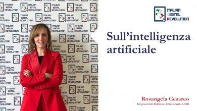 Photo of Sull'intelligenza artificiale di Rosangela Cesareo, Responsabile Relazioni Istituzionali AIDR